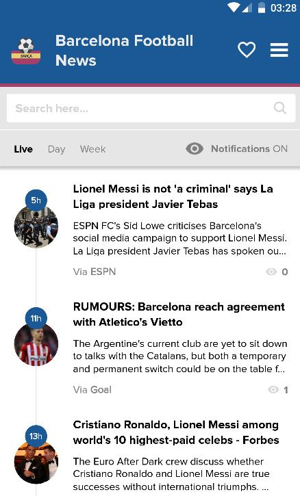 Barcelona Football News: Barça for Android - APK Download