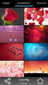 Lovely Wallpapers screenshot 1