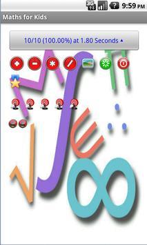 Maths for Kids (FREE) screenshot 2