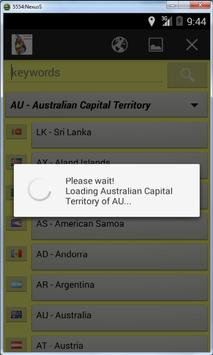 Worldwide Postal ZIP Codes screenshot 1