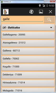 Worldwide Postal ZIP Codes screenshot 5