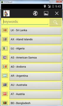 Worldwide Postal ZIP Codes screenshot 7