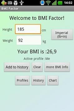 BMI Factor poster