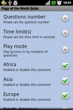 Flags of the World Quizz screenshot 1