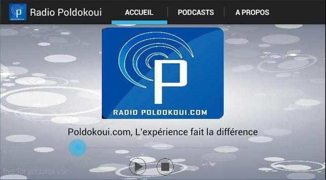 Radio Poldokoui.com screenshot 1