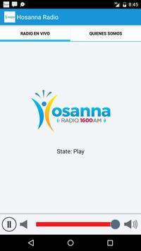 Hosanna Radio poster
