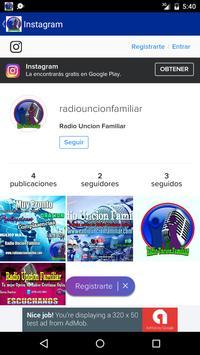 Radio Uncion Familiar screenshot 5