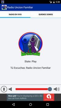 Radio Uncion Familiar screenshot 2