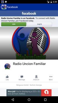 Radio Uncion Familiar screenshot 3