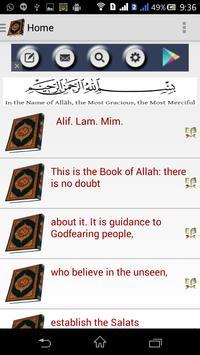 Quran Tafsir apk screenshot