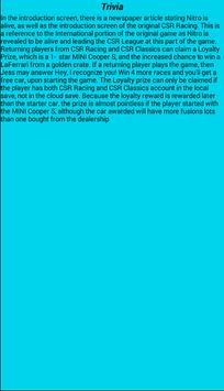 Руководство для CSR Racing 2 apk screenshot