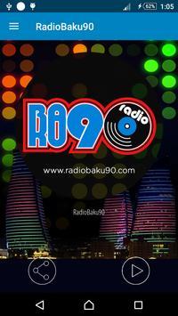 RadioBaku90 apk screenshot