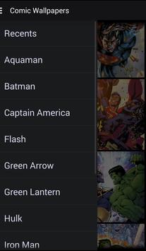 Comic Wallpapers apk screenshot