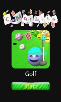 C-Marbles Card [Golf] poster
