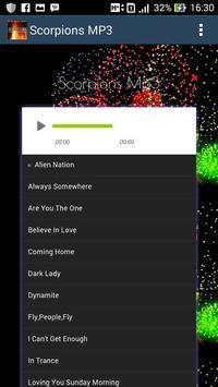Scorpions Hits - Mp3 apk screenshot