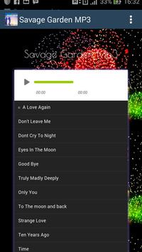 Savage Garden Hits - Mp3 apk screenshot