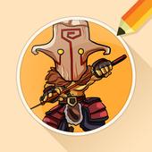 Draw Drawings Dota Gameplay Champions icon