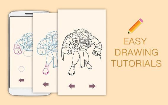 Draw Drawings Dota Gameplay Champions screenshot 1