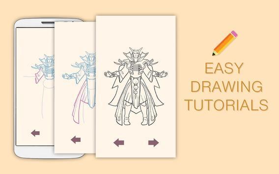 Draw Drawings Dota Gameplay Champions screenshot 8