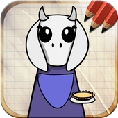 Draw Undertale Game icon