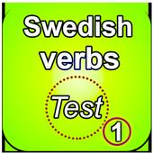 تعلم اللغة السويدية بالصوت : اختبار الافعال 1 icon
