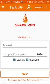 Spark VPN poster