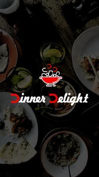 DinnerDelight Food Order poster