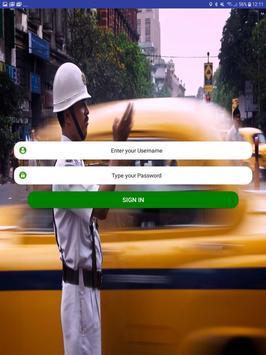 TaxiStarterApp screenshot 1