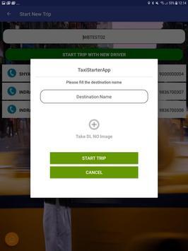 TaxiStarterApp screenshot 6