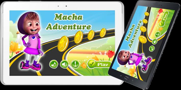Macha Skateboard Adventure Run poster