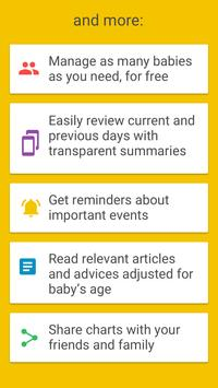 Baby Manager - Baby Tracker & Breastfeeding track APK-screenhot