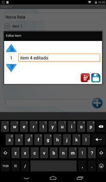 Checklist screenshot 1
