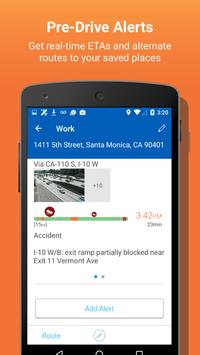 INRIX Traffic تصوير الشاشة 1
