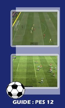 New Guide PES 12 screenshot 2