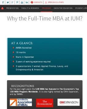 University of Monaco -IUM screenshot 4