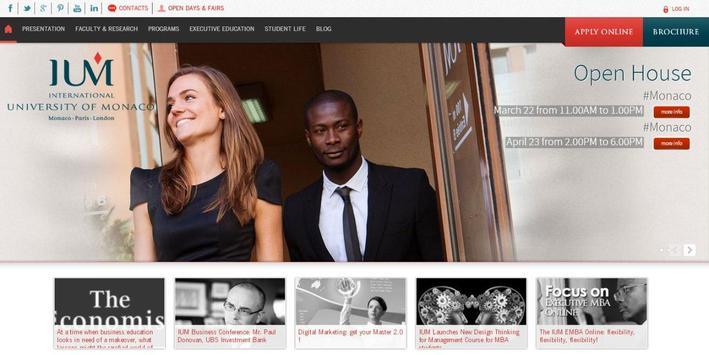 University of Monaco -IUM screenshot 6