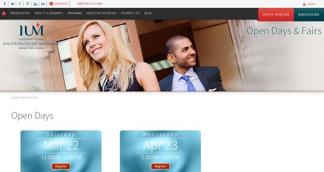 University of Monaco -IUM screenshot 7