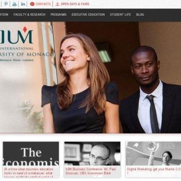 University of Monaco -IUM poster