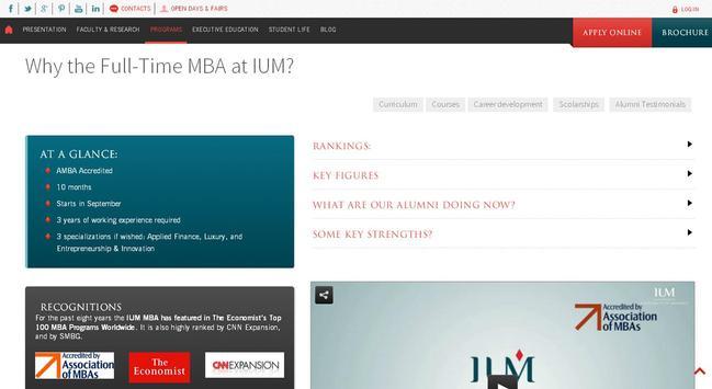 University of Monaco -IUM screenshot 11