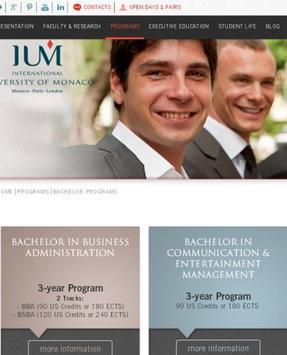 University of Monaco -IUM screenshot 3