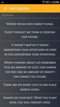 Inspirational Life Quotes screenshot 3