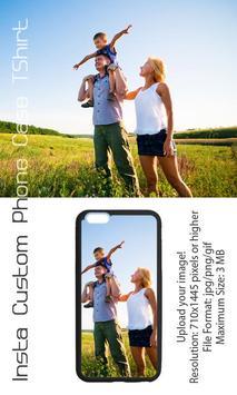 Insta Custom Phone Case TShirt apk screenshot