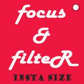 Focus & Filter - Insta Size icon