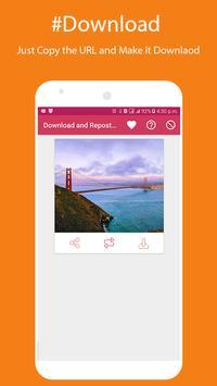 New Insta Download and Repost 2017 screenshot 2
