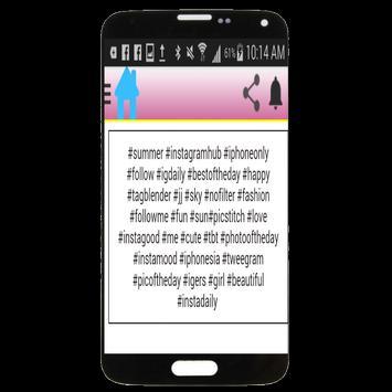 World Popular InstaTags screenshot 1
