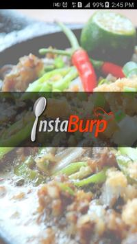 InstaBurp - Food Delivery poster