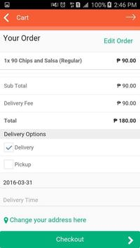 InstaBurp - Food Delivery apk screenshot
