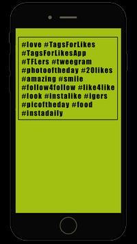 Instags apk screenshot
