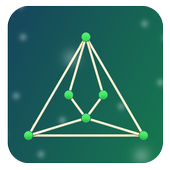One Touch Drawing - Connecting Dots icon