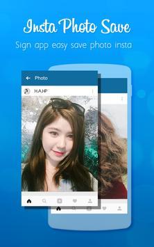 Insta Photo Saver screenshot 1